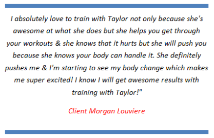 personal training in lafayette la